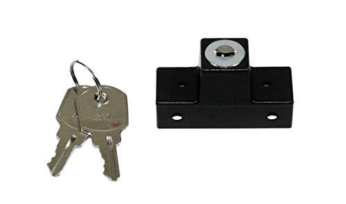 GU Fenstersicherung/Drehsicherung / Einbruchschutz Dunkelbraun mit 2 Schlüsseln