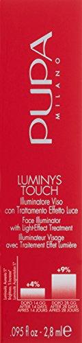 Pupa Milano Luminys touch illuminatore viso con effetto di luce trattamento 2.8ml