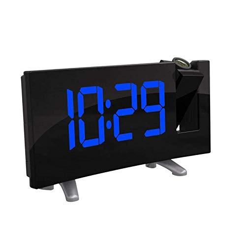 DZXYW Reloj Despertador Proyector Electrónico FM Radio ...