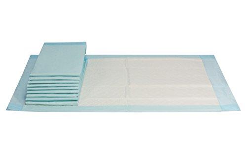 VIDIMA Inkontinenzunterlage 40x60 cm | 20 Stück | 6-lagige saugstarke Einmal-Krankenunterlage aus Zellstoff | unterverpackte Bettunterlage für Inkontinenz & Blasenschwäche | ideal für Krankenhäuser