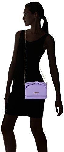 Love Moschino JC4092, Borse a Tracolla Donna, 6x15x22 cm (B x H x T) Viola (lavender)