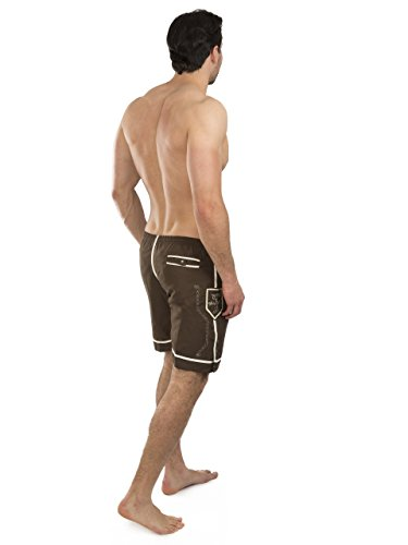 Trachten Badehose - Hopfen & Malz - Lederhose - Trachtenbadehose - Trachten Shorts - Badeshort(XL) - 4