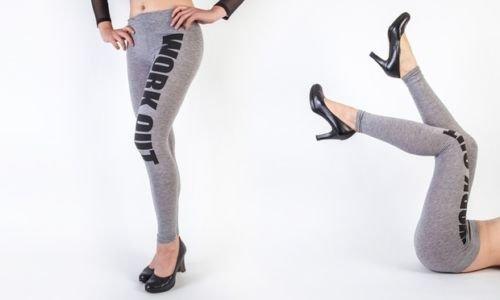 Generic - Legging de sport - Femme Gris