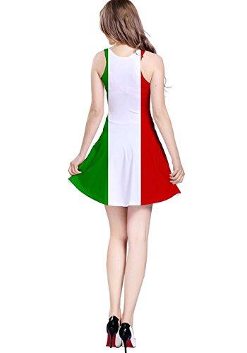 CowCow Damen Kleid France Italy