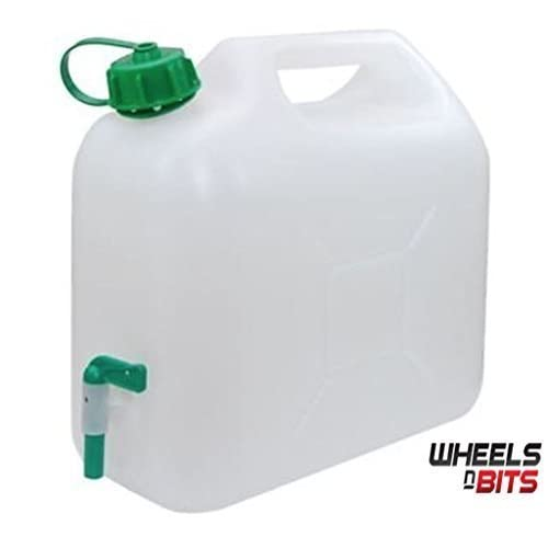31CjjaciByL. SS500  - 10L 15L 20L Litre Plastic Garden Camping Caravan Water Carrier Fluid Jerry Can Container & Tap perfectly Safe for…
