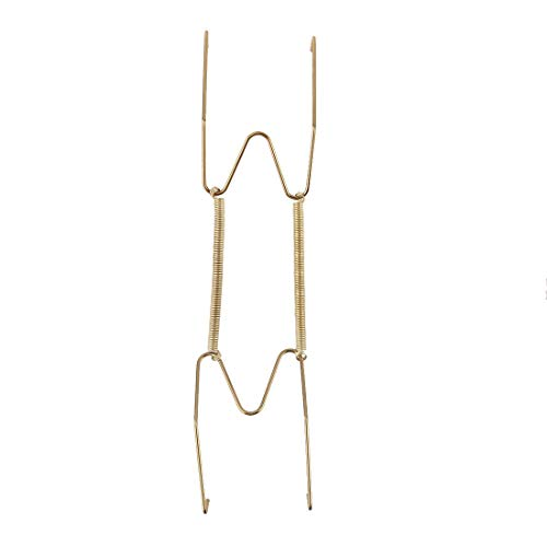 ZCHXD Metal Spring Plate Hangers, Natural and Stretch Length 9
