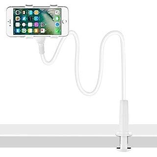 Cell Phone Holder,Shawe Universal Flexible Long Arms(900mm Length) Mobile Phone Holder Desktop Bed Lazy Bracket Mobile Stand Support All Mobiles, for Bedroom, Kitchen, Office, Bathroom Etc