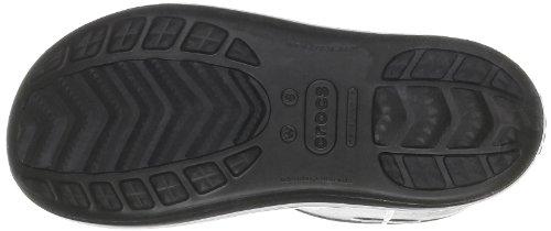 crocs Damen Crocband Jaunt Gummistiefel Schwarz (Black)