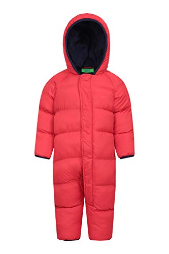 Mountain Warehouse Frosty Junior Padded Suit Rouge 18-24 Mois