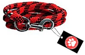 Pawzone Dog Rope Chain Synthetic Yarn, Medium (Color May Vary)