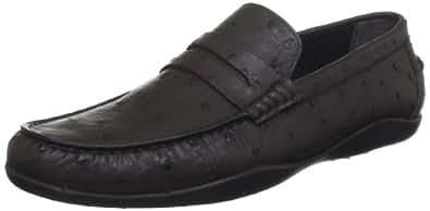 Harrys of London Men's Basel Dark Brown Loafers 8 UK