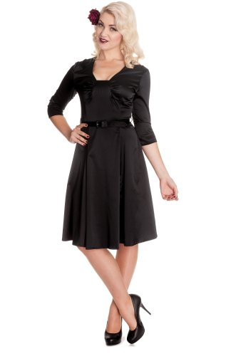 Hell Bunny dell'abito MYLENE DRESS 4298 nero X-Large