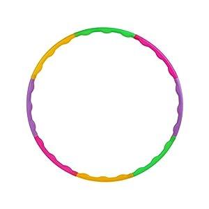 NoyoKere Hula-Hoop für Kinder Frauen Einstellbare Fitness Hula Hoop Bunte Turnhalle Hula