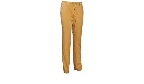 7a82c7196a52 Buy INESIS SMAR TEE MENS GOLF TROUSERS - DARK BEIGE (34) Online at Low  Prices in India - Amazon.in