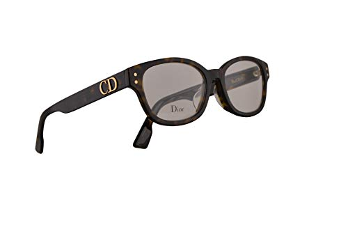Dior Christian DiorCD2F Brillen 51-17-145 Dunkel Havana Mit Demonstrationsgläsern 086 CD2F