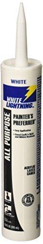 white-lightning-products-30010-painters-preferred-acrylic-latex-caulk-white-by-white-lightning