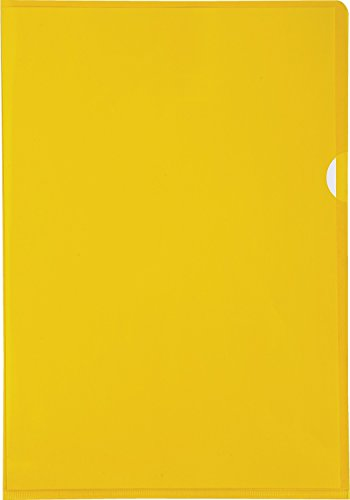 Exacompta 660535E Buste, 31 x 22 x 0.40 cm, Giallo