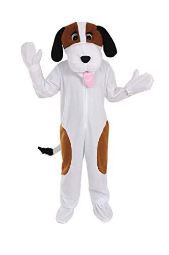 Hund Bernhardiner Einheitsgrösse L Kostüm Fasching Fastnacht Maskottchen Erwachsene