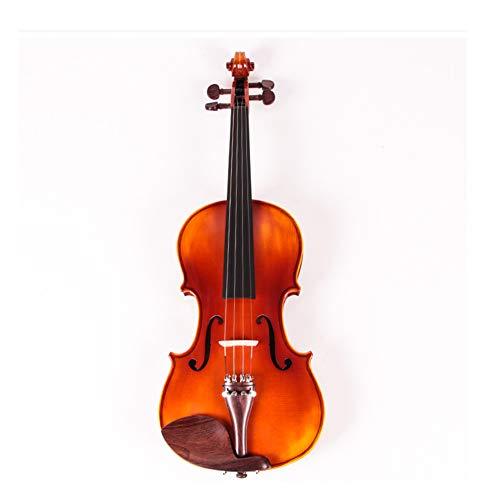 ZQWJ Violine 4/4, Anfänger, Tiger Textur, Professionelles Spielinstrument