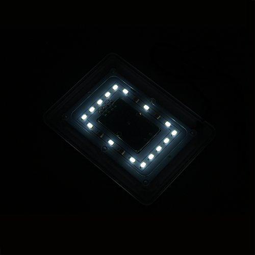 SunSun AD-120 LED Aquariumbeleuchtung um 90° Hochklappbar für Nano-Aquarien -