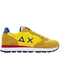 Scarpe Sun68 Z19101 23 Giallo Tom Solid Nylon Uomo Moda Casual Sneakers 806021c3305