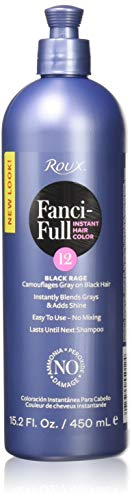Roux Fanci-Full Rinse, 12 Black Rage, 15.2 Fluid Ounce by Roux -