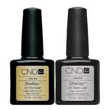 CND Original Shellac Base Coat plus Top Coat (2 x 7.3 ml)