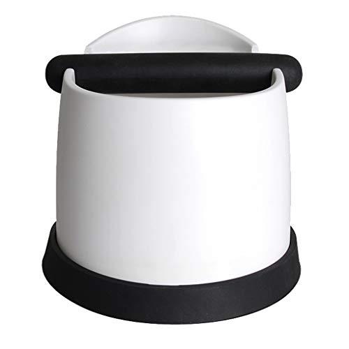 Baoblaze Kaffee Knockbox/Abklopfbehälter für Kaffee, Restaurants, Bar - Weiß