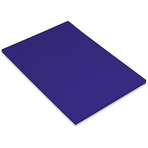 Canson Iris Vivaldi - Papel de colores (240 gsm, A4, paquete de 50), color azul oscuro