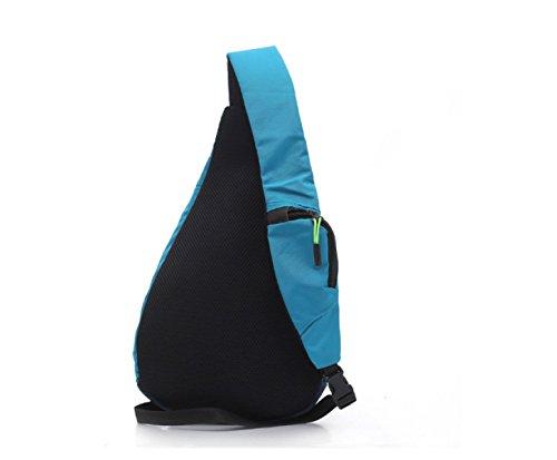 BULAGE Brust Tasche Tropfen Männer Nylon Wasserdicht Reiten Freizeit Mode Atmungsaktiv Strapazierfähig Bequem Blue