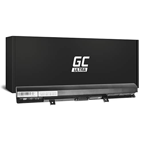 Green Cell® Ultra Serie PA5185U-1BRS PA5186U-1BRS Laptop Akku für Toshiba Satellite C50-B C50D-B L50-B L50D-B L50T-B (Original Panasonic Zellen, 3400mAh, Schwarz)