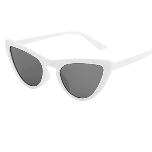 Prada Sonnenbrille Damen Unisex-Mode-Sonnenbrille mit kleinem Rahmen Retro Vintage Cat...