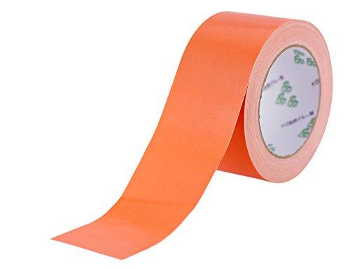 FiveSeasonStuff All Season premium de alta resistencia adhesiva a una cara de la cinta aislante (duct tape), cintas americanas, cinta de alfombras, resistente al agua Cinta Fuerte (Duct Tape - Naranja (6cm de ancho x 20m de largo))