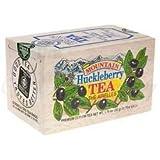 The Metropolitan Tea Company 62WD-618B-101 Mountain Huckleberry 25 Teabags In Wood Box