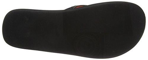 bugatti K15846n Herren Zehentrenner Schwarz (schwarz 100)