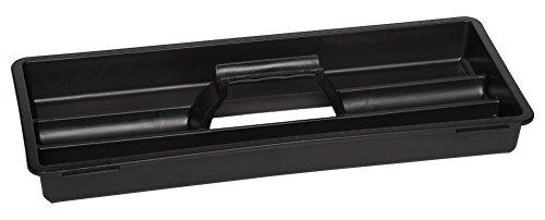 Werkzeugkoffer Set aus zwei Edelstahlkoffern – PROFI 18 + PROFI 23 – mit robustem Kunststoff-Rahmen, Stoßschutz an den Kanten, herausnehmbaren Werkzeugträger und Ablängvorrichtung, mit abschließbaren Metallverschlüssen - 6