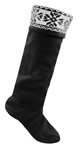 Wellington calcet/ín Las mujeres termo calcetines Botas de agua Tama/ño 4-8 p/úrpura HEAT HOLDERS