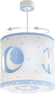 Moon Light Hängeleuchte Dalber 63234t Mond Licht blau Lampe Kinder Zimmer von DALBER bei Lampenhans.de