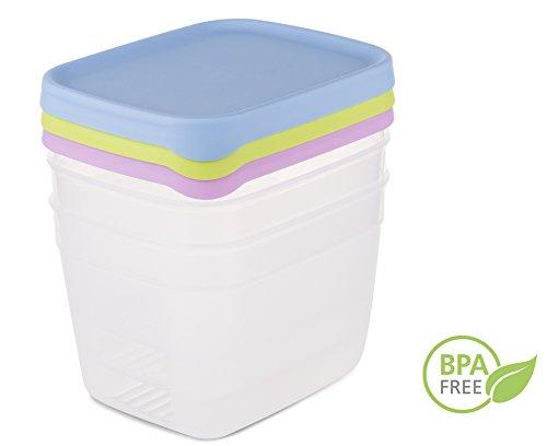 DBP-Amuse-Set-de-3-botes-alimentaires-ConglationCouvercle-en-plastique-sans-BPA-pour-rfrigrateur-conglateur-micro-onde-lave-vaisselle-3-x-12-L