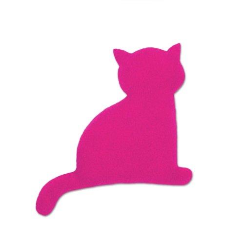 Leschi | Coussin chauffant (pour bébé) | 36491 | Minina le Chat | assis | petit | Couleur : Flamant rose / Minuit
