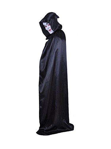 Clown Kostüm Selber Machen - MissFox Erwachsene Cosplay Grim Reaper Cloak