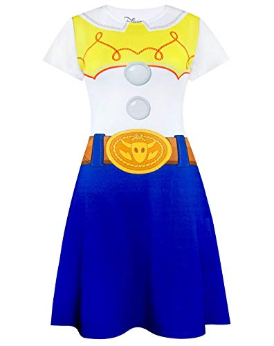 Disney Pixar Toy Story Jessie Women's/Ladies Costume Outfit Dress S - XXXL (Rex Kostüm Story Toy)