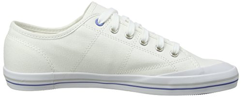 Le Coq Sportif Grandville W, Chaussons Sneaker Femme Blanc - Blanc
