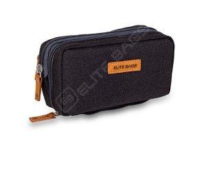 Elite Diabetiker-Kühltasche, verschiedene Fächer für Stifte und Ausrüstung, Schwarz