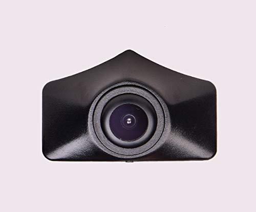 Front-Kamera- perfekt,170° Wasserfest 1/3 HD CCD Emblem Kamera (Schwarz) & unauffällig ins Front-Emblem integriert für Audi A6L C7 A7 Q5 Q7 Q3 A4L A4 b8 Front Logo Camera 2012-2013 1/3 Sony 420 Tv
