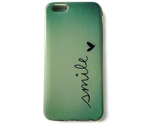 """Apple iPhone 6 6S Case von GaDa aus TPU mit hoher Bruchsicherheit Rückdeckel Hülle Muster Schutzhülle """"Nordlichter / Polarlichter"""" smile"""