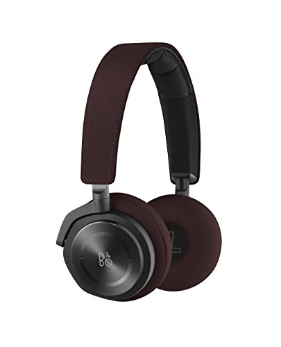 B&O PLAY by Bang & Olufsen BeoPlay H8 Deep Red - Auricular OnEar Inalámbrico, Bluetooth