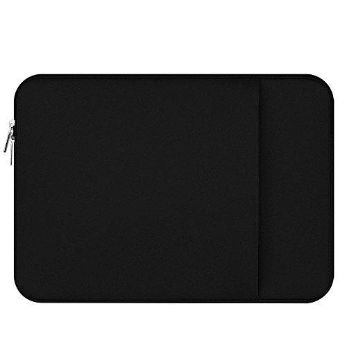 KOBWA 360° Schutz Laptop Tablet Fall, fallgeschützt Ultra Dünn Laptop Sleeve für 27,9-39,6cm MacBook Air Pro 33cm, schwarz, 11-12inch