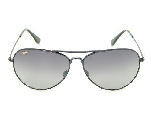 new-maui-jim-mavericks-gs264-02-gloss-black-neutral-grey-polarized-61mm-sunglasses-by-maui-jim