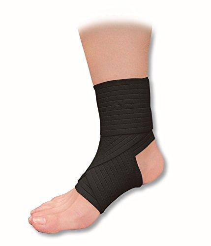 MC DAVID elastico per caviglia PROTEZIONI Nero